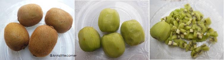 How to make Kiwi Jam - Step 1