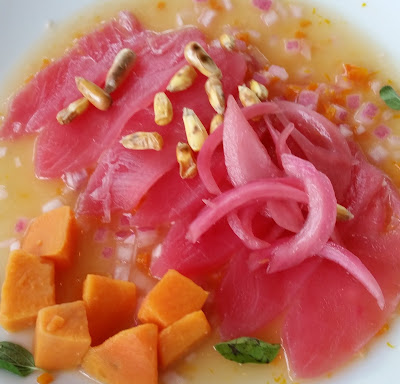 Ceviche at Alcomar