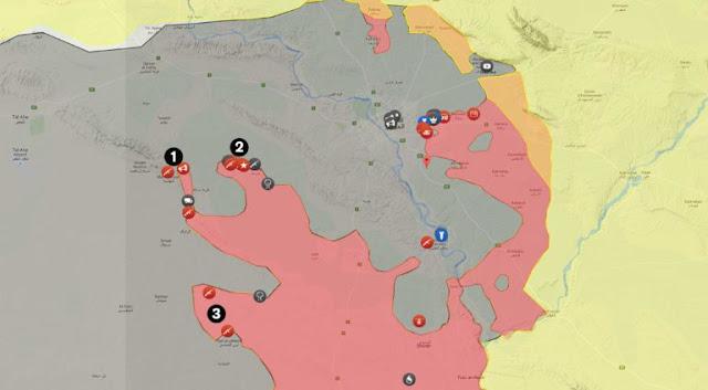 Η προέλαση του PMF στον δυτικό άξονα της Μοσούλης