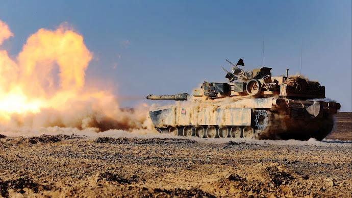 Wallpaper: American M1A1 Abrams Tank