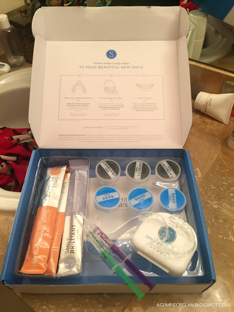 Smile Brilliant Teeth Whitening Kit - Andrea Tiffany A Glimpse of Glam