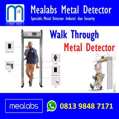 walk through Metal Detector di Indonesia