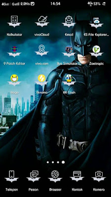 Batman Dark Knight Theme itz For Vivo