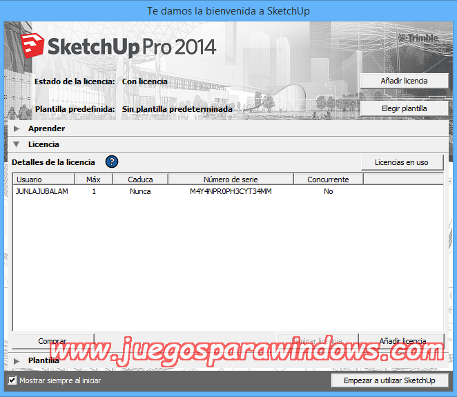 SketchUp Pro 2014 v14.1.1282 Full PC Descargar ESPAÑOL 6