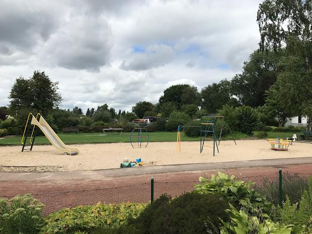 Spielplatz in der Kleingartenanlage