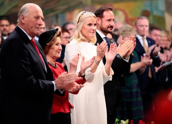 Norwegian Royals attended 2019 Nobel Peace Prize ceremony