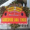 Bunga Papan Pernikahan Gubernur Jatim