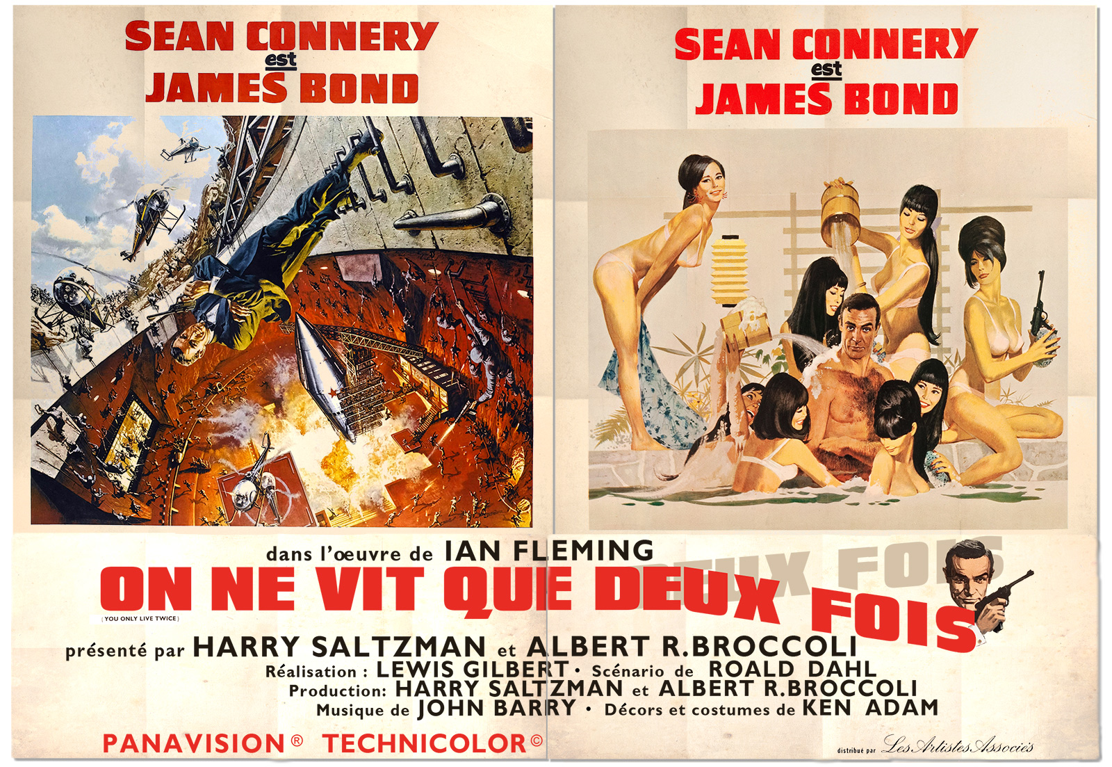 Illustrated 007 - The Art of James Bond: French You Only