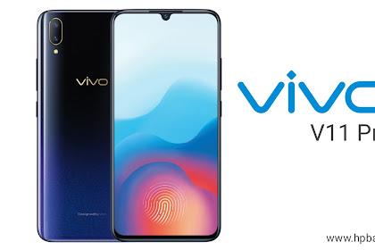 Harga dan Spesifikasi Vivo V11 Pro dengan RAM 6GB