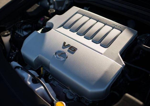 2017 Lexus ES 350 Engine