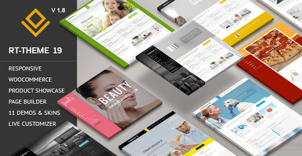 Free Download RT-Theme 19 V1.8.4 Responsive Multi-Purpose WP Theme
