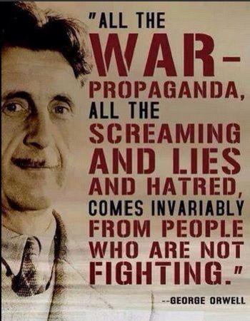 George Orwell - Image Copyright Blogspot.Com