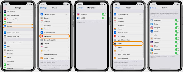 How to Prevent Apps from accessing your iPhone's Microphone?