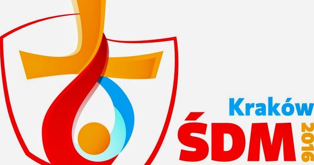Mapa Y Ubicación Del Logo Azul Mapa Logotipo De: TRATAR ENTRE AMIGOS: Logo De La JMJ De Cracovia 2016