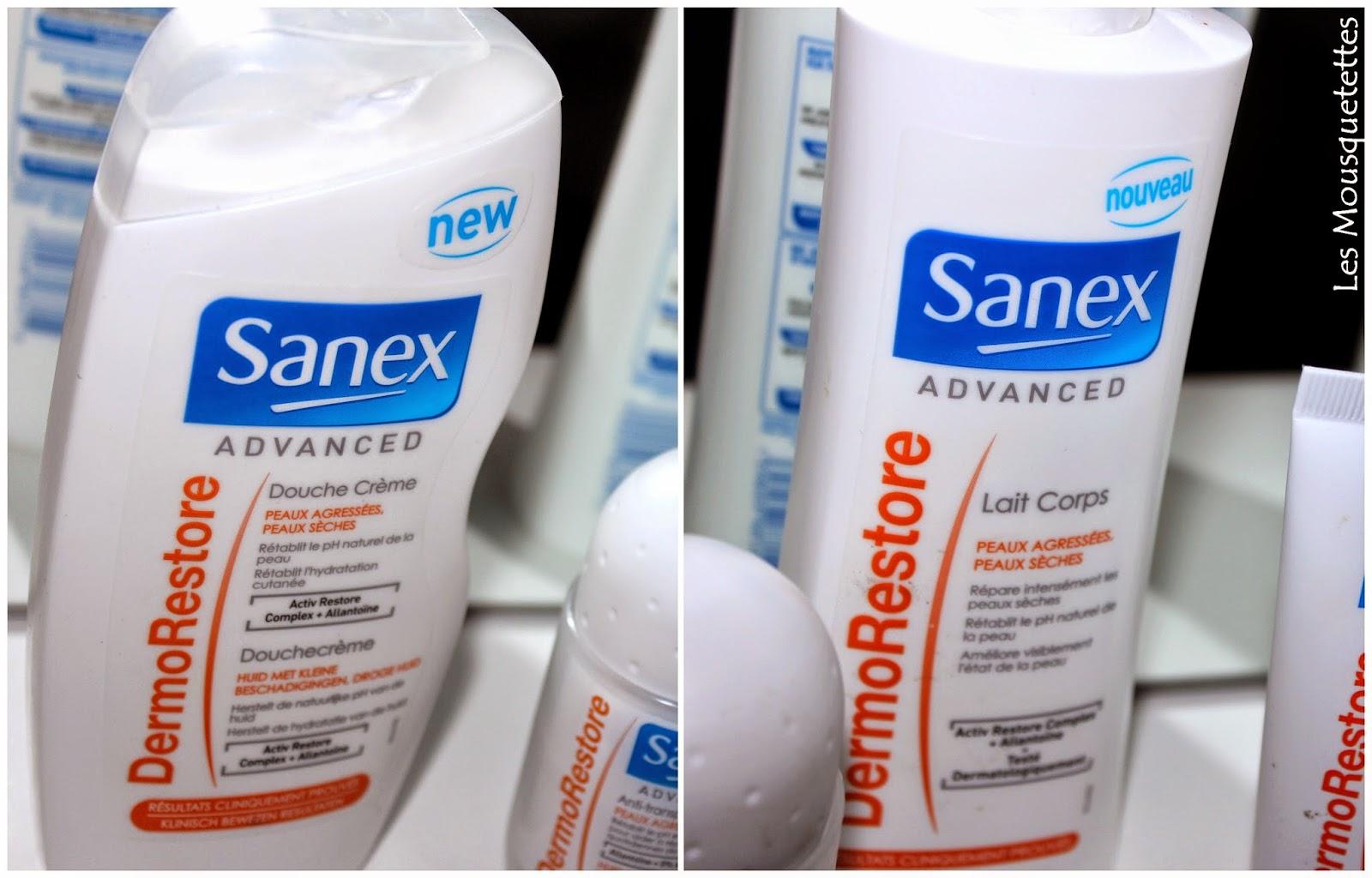 Sanex Advanced DermoRestore nouvelle gamme Sanex - Les Mousquetettes©