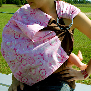 nursing in a ring sling