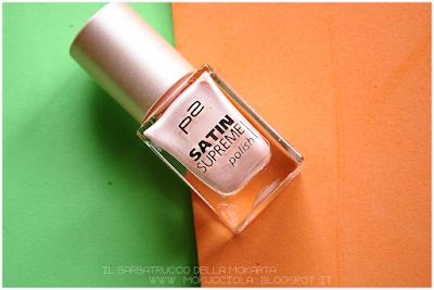 Review Polish Satin P2 Cosmetics -  020 sweet elegange