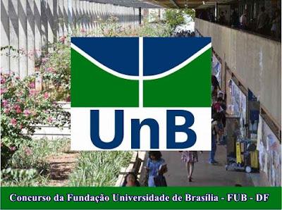 Concurso da FUB: Fundação Universidade de Brasília - DF