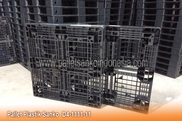 Pallet Plastik D4-1111-11 Sanko, pallet logistik