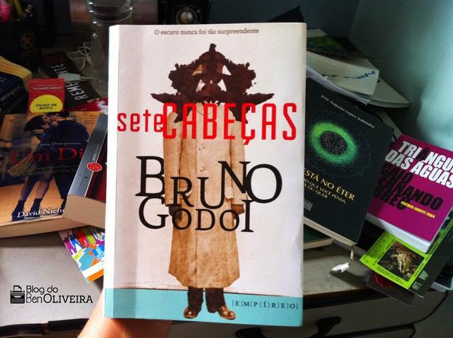 Livro Sete Cabeças Bruno Godoi Editora Empíreo
