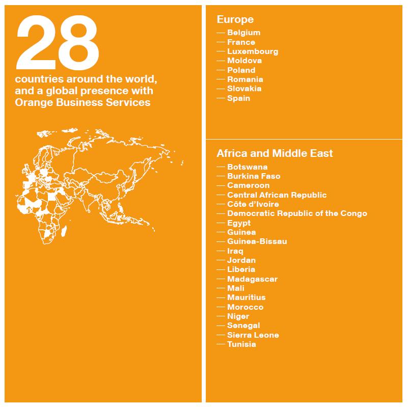 Operator Watch Blog: Orange Group presence worldwide