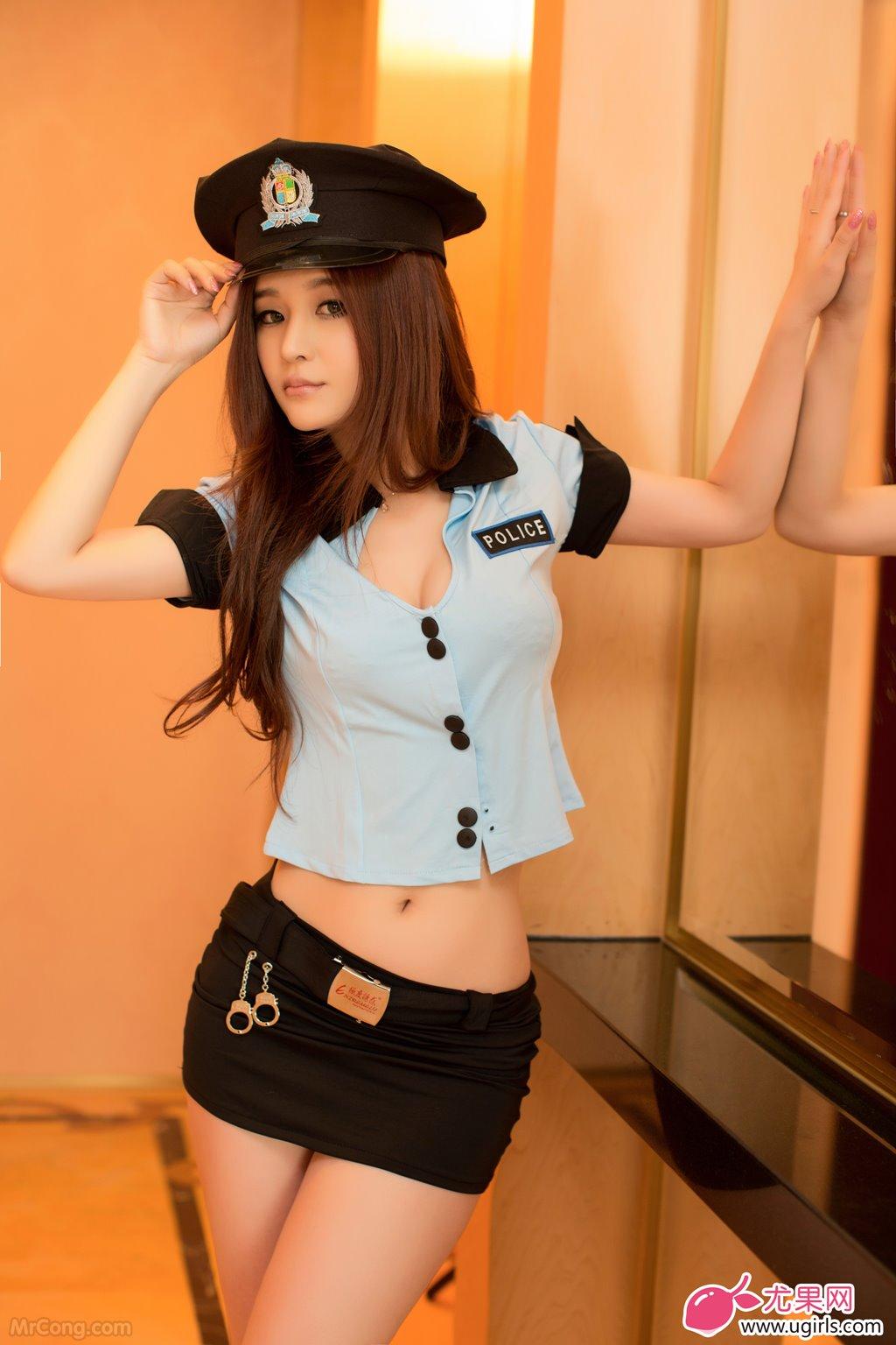 Image MrCong.com-UGIRLS-015-Chun-Xiao-Xi-004 in post Người đẹp Chun Xiao Xi (纯小希) siêu nóng bỏng trong bộ ảnh UGIRLS 015