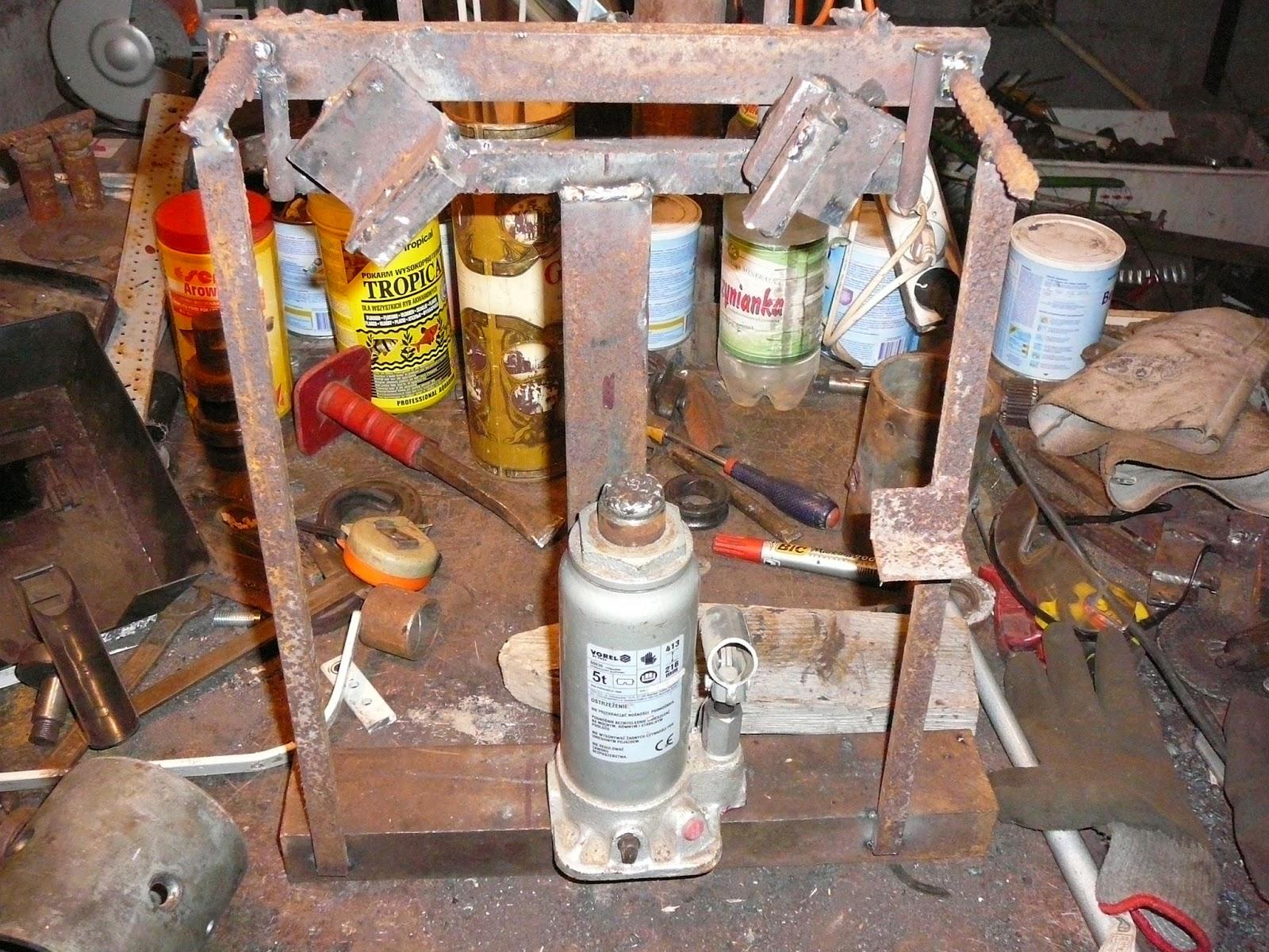 Chłodny The joy of welding, czyli nie ma takiego złomu, co nie przydałby MR35