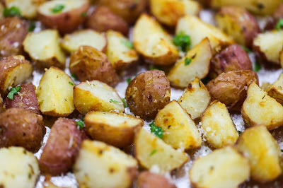 Recipe For Garlic Roasted Potatoes