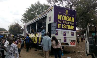 Joe Nyaga Manifesto. PHOTO   FILE