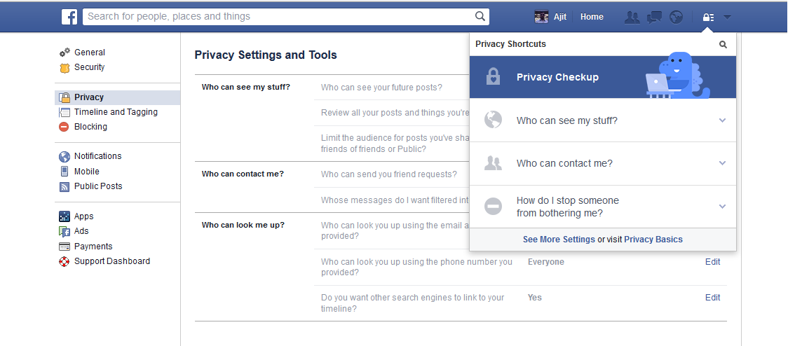 Tips to use some hidden features of facebook