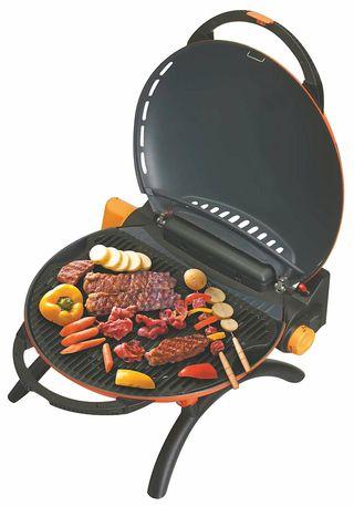 le blog d di aux barbecues un barbecue gaz portable pour le camping. Black Bedroom Furniture Sets. Home Design Ideas