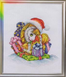 Cross-stitch Lan Svit D-047 «The Snowgold Horse»