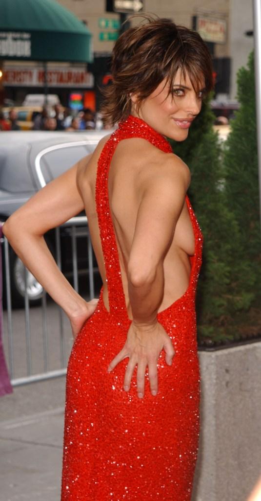 Superstar Lisa Rinna Naked Pregnant Pic