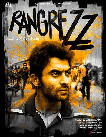 Poster Of Rangrezz 2013 Hindi 720p HDRip x264 Watch Online Free Download Worldfree4u
