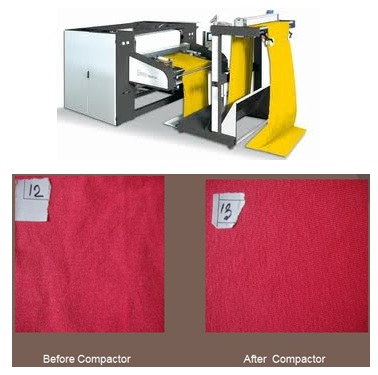 Compacting fabric