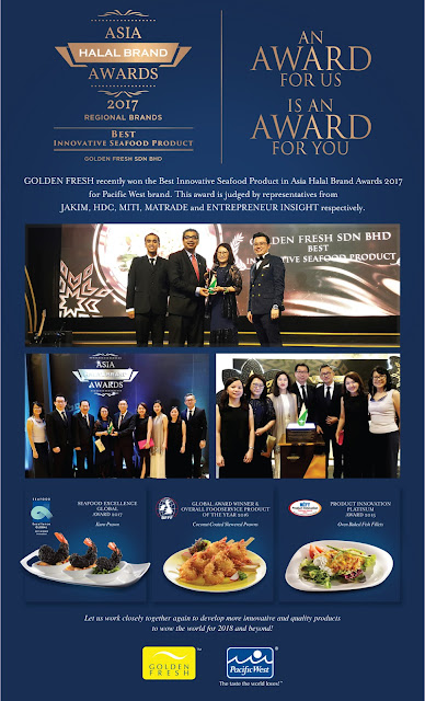 Best Innovative Seafood Product in Asia Halal Brand Awards 2017