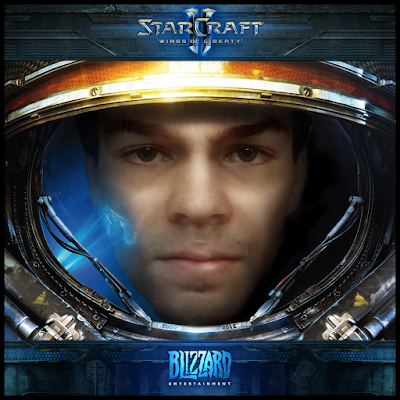 Photoshop Yourself as a Starcraft Marine