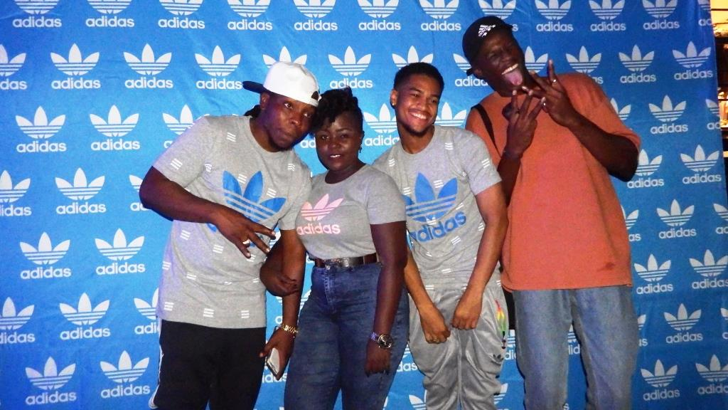 check out 360ff e1e9f Kaakie, Edem, Jason El-A join Joey B at adidas as brand ambassadors