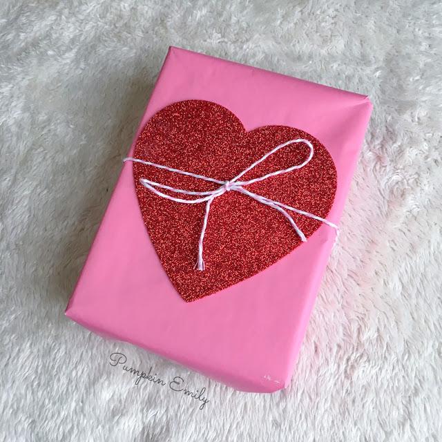 DIY Heart Wrapping Idea