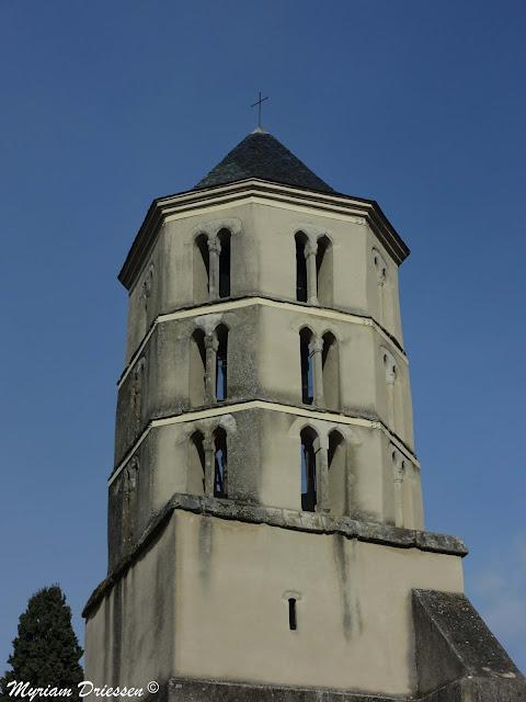 Saint Jean church Verdalle South of France