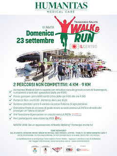 2° Walk & Run– Traguardo Salute