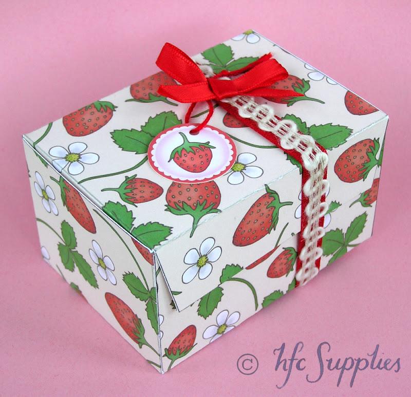 Printable Gift Box tutorial hazelfishercreations