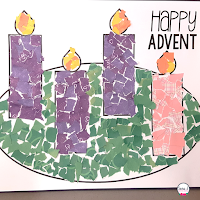 Advent Wreath Rip Art