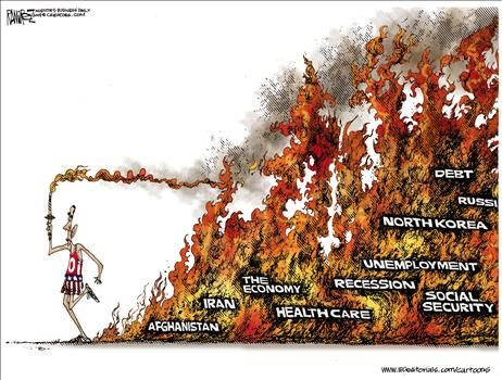 Image result for obama failures cartoons