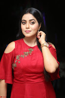 Poorna in Maroon Dress at Rakshasi movie Press meet Cute Pics ~  Exclusive 57.JPG