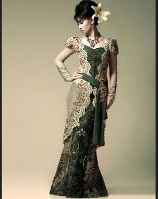 gambar gaun pengantin modern dengan model unik