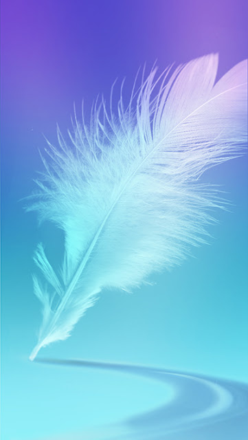 Feather  Wallpaper Galaxy S7 Edge