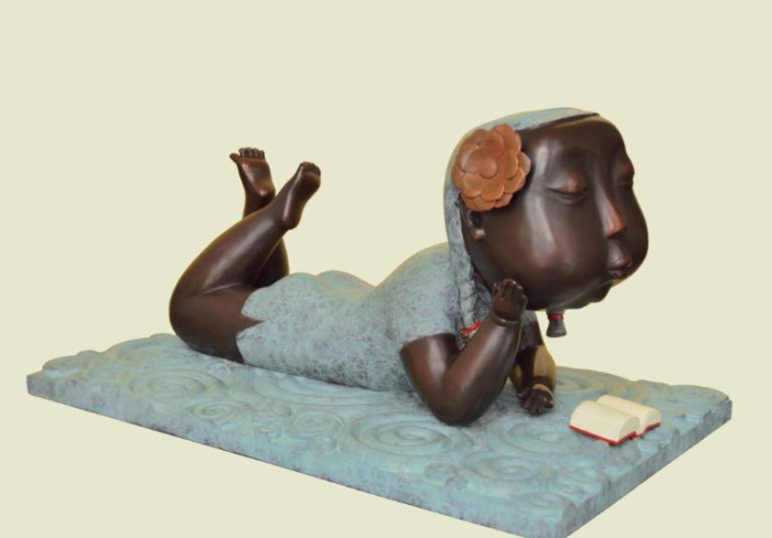 Китайский скульптор. Jiahui Wu