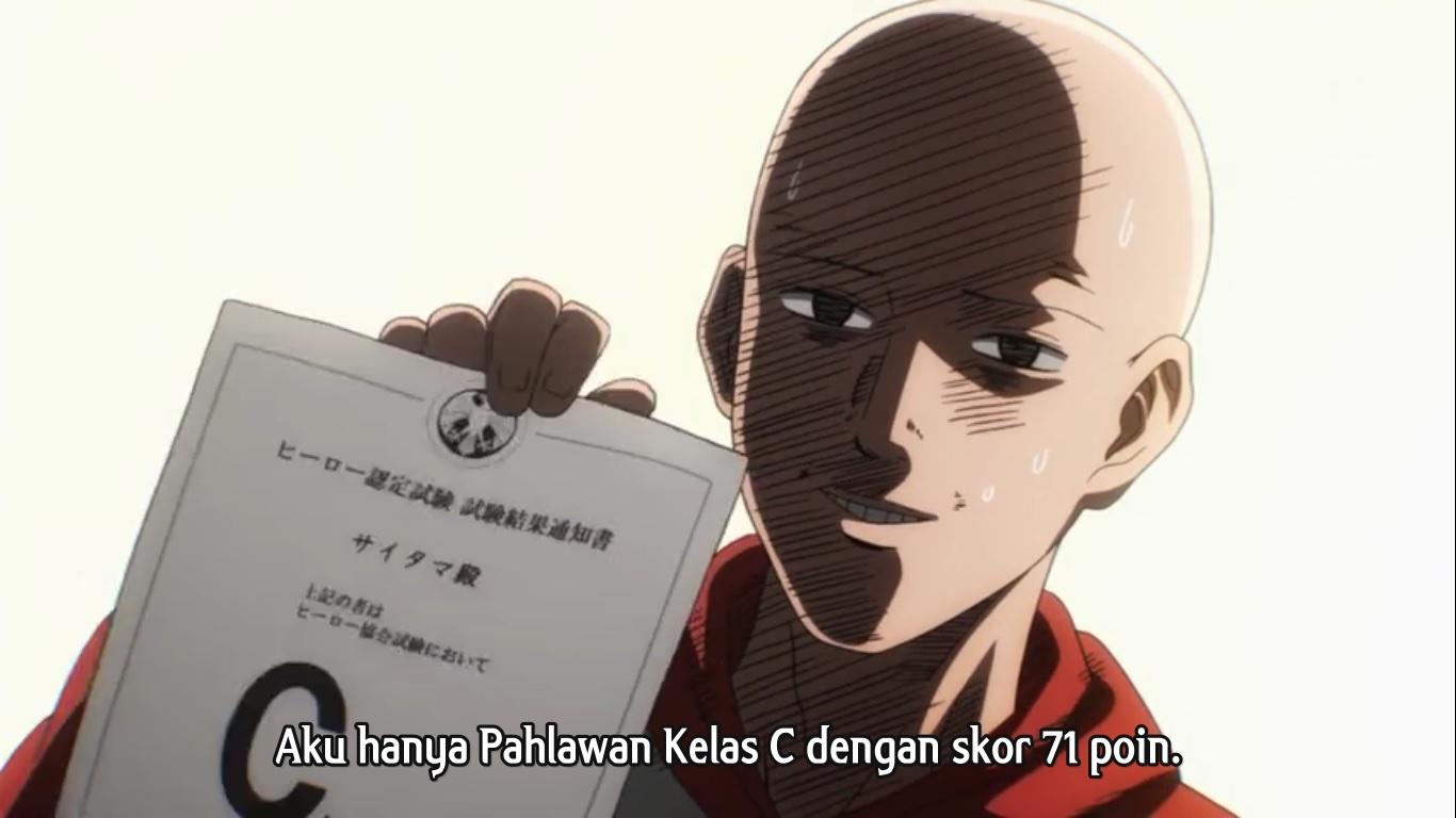 Asosiasi Pahlawan Ada Karena Saitama One Punch Man Tekno Anime Game