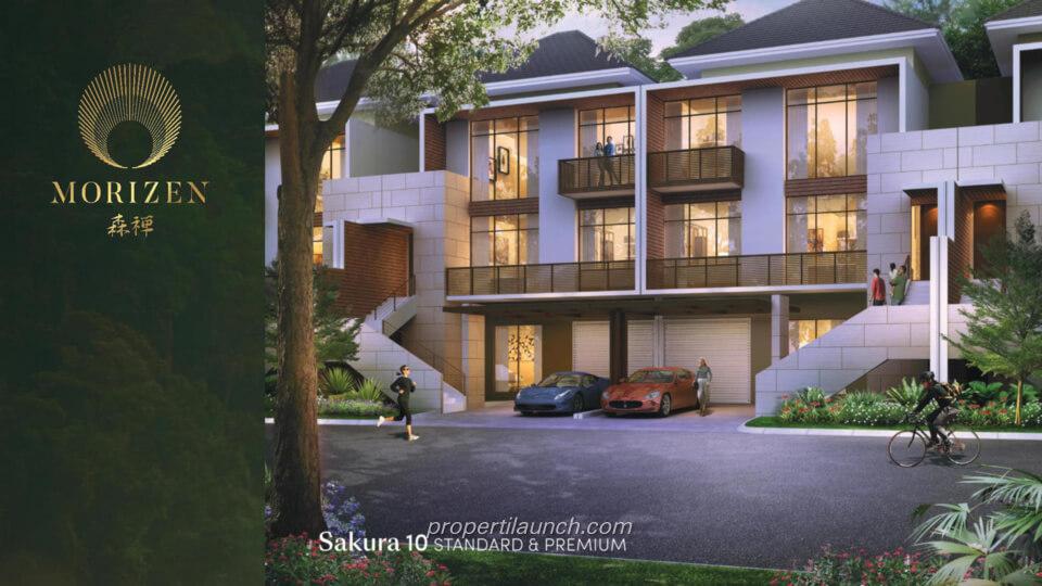 Rumah Morizen Bekasi Tipe Sakura